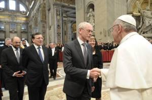 La Commissione dal Papa
